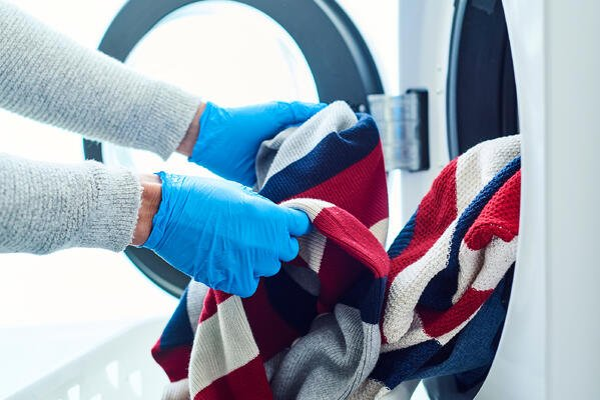 Wash Laundry Thoroughly